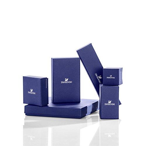 Swarovski Generation Set, blau, rhodiniert - 3