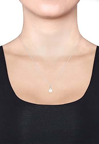Diamore Damen Halskette 925 Sterling Silber Diamant 45.0 cm weiß 0109142713_45 - 3