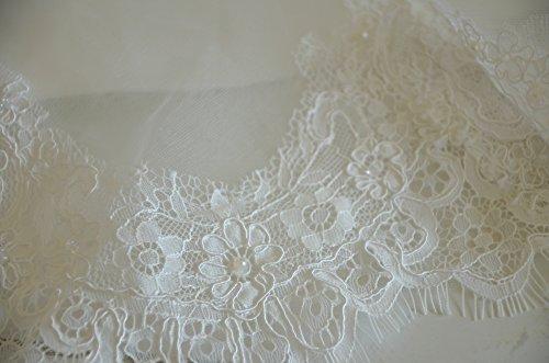 Luxus Brautkleid Hochzeitskleid Spitze // Meerjungfrau // Herzausschnitt - 9
